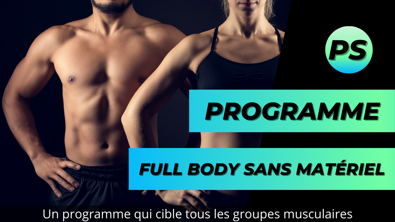 Programme Full body sans matériel en 10 minutes et 8 exercices par Purshape