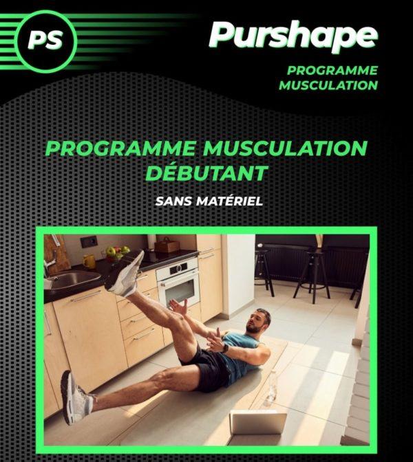Programme musculation pour débutants sans matériel
