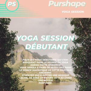 Session de yoga pour débutants