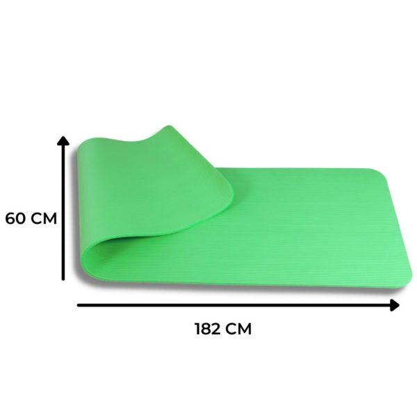 Tapis de sport PURSHAPE de 182 cm par 60Cm