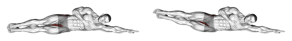 Exercice Abdo côté relevé de jambes