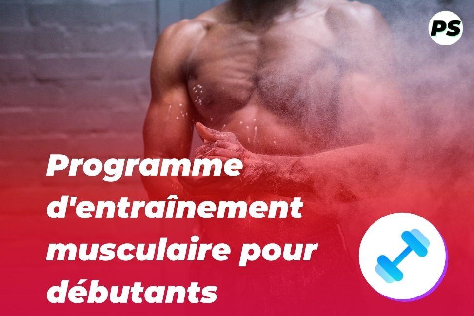 Programme d'entraînement musculaire et de musculation pour débutants