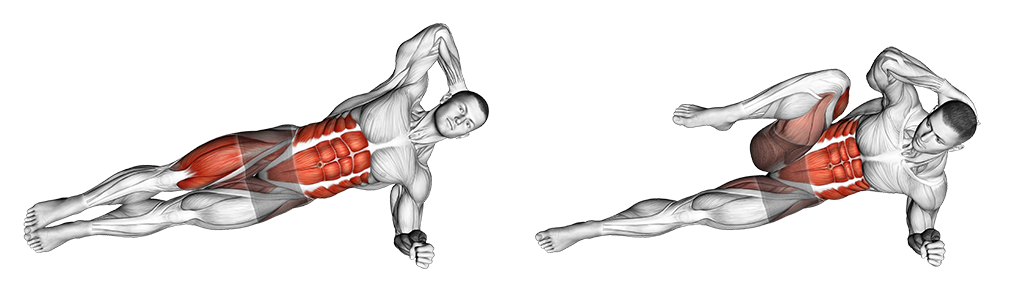 Gainage latérale modifié exercice purshape